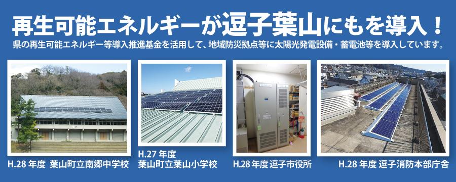 近藤だいすけ県政ニュース、再生可能エネルギーが 逗子葉山にもを導入!