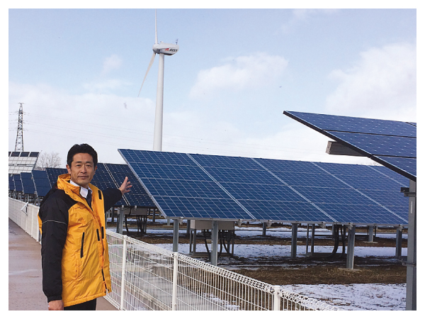 近藤だいすけ県政ニュース、福島県視察で福島再生可能エネルギー研究所へ。 水素キャリアシステムを調査。
